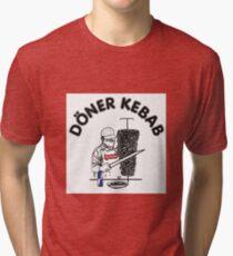 Döner Kebab Tri-blend T-Shirt