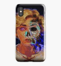 Two faces of same pirate-medal iPhone Case