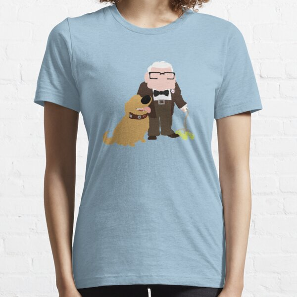 Old Man and His Loyal Dog Essential T-Shirt