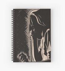 NOIR no.05 (HURRY!) Spiral Notebook