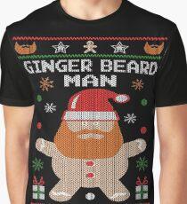 Ginger Beard Man Ugly Tees Graphic T-Shirt