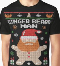 Ginger Beard Man Ugly Tees Graphic T-Shirt