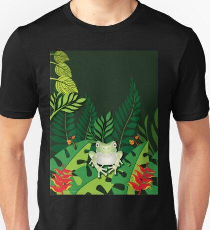Green Tree Frog T-Shirt T-Shirt