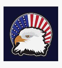 Proud Bald Eagle Photographic Print