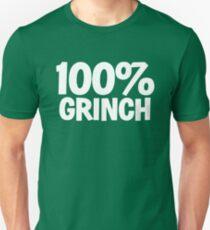 100 percent GRINCH - XMAS INSPIRED PARODY  Unisex T-Shirt