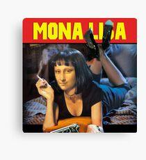 Pulp Fiction - Mona Lisa  Canvas Print