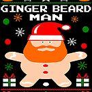 Ginger Beard Man Christmas by EthosWear