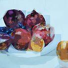 Angolare frutta, quadrangolare quattro fruit, quadro-fruit by Dmitri Matkovsky
