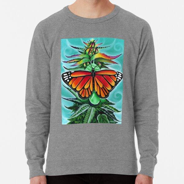 Cannabis Transformation Lightweight Sweatshirt