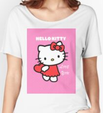Hello Kitty love you Women's Relaxed Fit T-Shirt