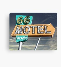 Motel 66 Canvas Print
