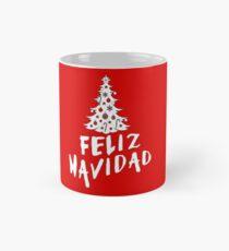 Feliz Navidad with Tree Mug