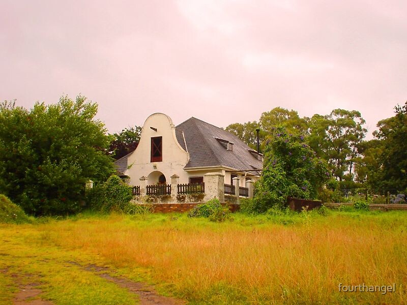 Stellenbosch homestead by fourthangel
