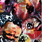 pomegranates cubism by Dmitri Matkovsky