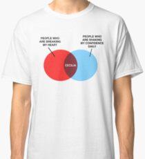 Camiseta clásica Diagrama de Cecilia Venn