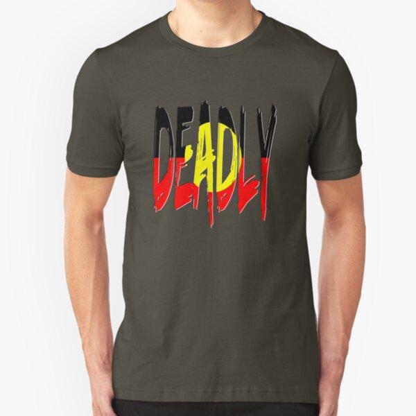 Deadly - Indigenous Australia Slim Fit T-Shirt
