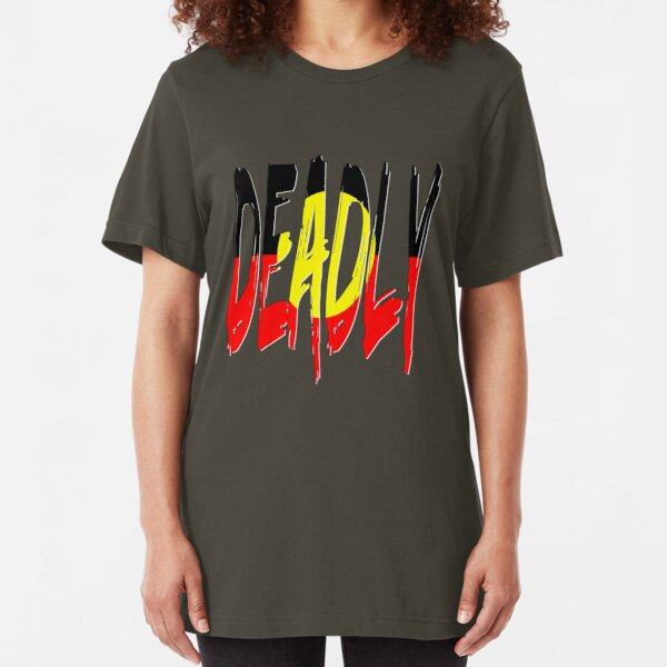Deadly - Indigenous Australia Slim Fit T-Shirt