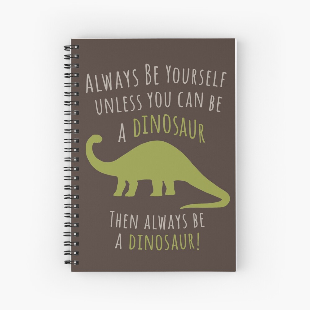 Sei ein Dinosaurier! Spiralblock