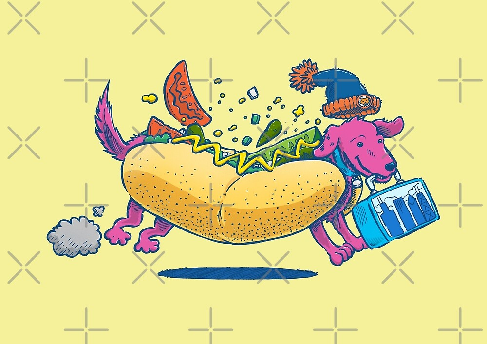 Chicago Dog: Lunch Pail by nickv47