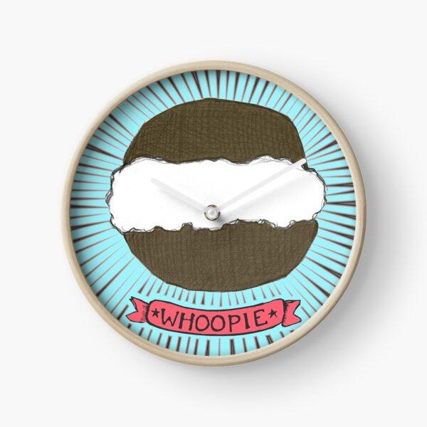 Whoopie!  Whoopie Pies on Aqua Clock