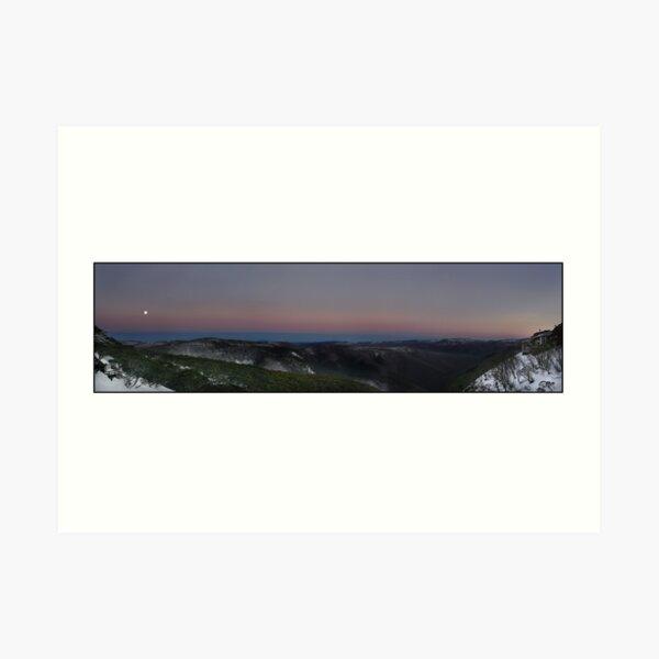 Mt Hotham - Victoria, Australia Art Print