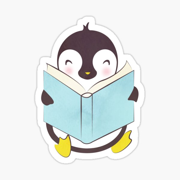 PENGUIN READS Sticker