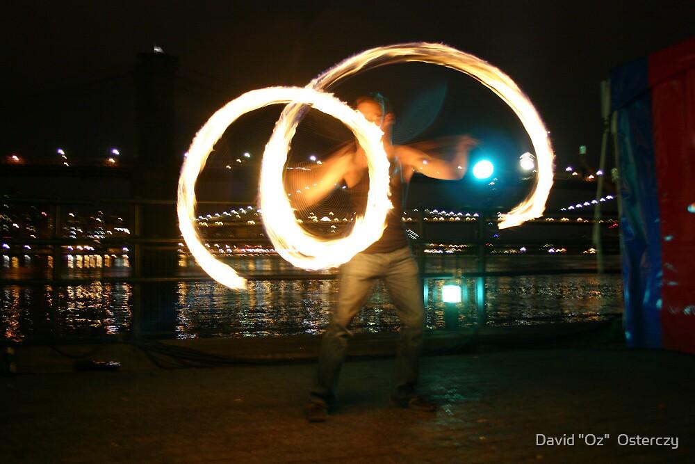 """Fire swirlies by David """"Oz""""  Osterczy"""