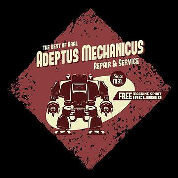 Adeptus Mechanicus - Baal Dreadnaught by moombax