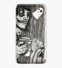 Fall in All of its Cliché Fashions (Aquatint Edition) iPhone Case/Skin