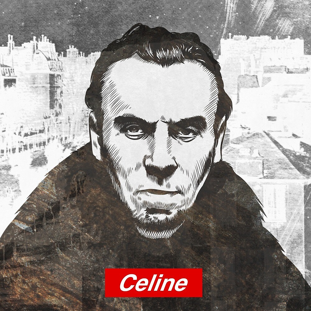 Louis-Ferdinand Céline by steamdesign