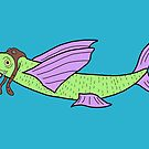 Fightin Flyin Fish by Snockard