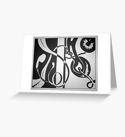headphones Greeting Card