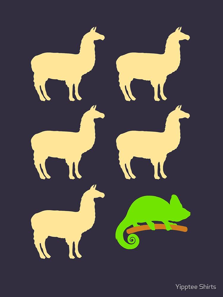 Llama Llama Llama Llama Llama Chameleon by dumbshirts