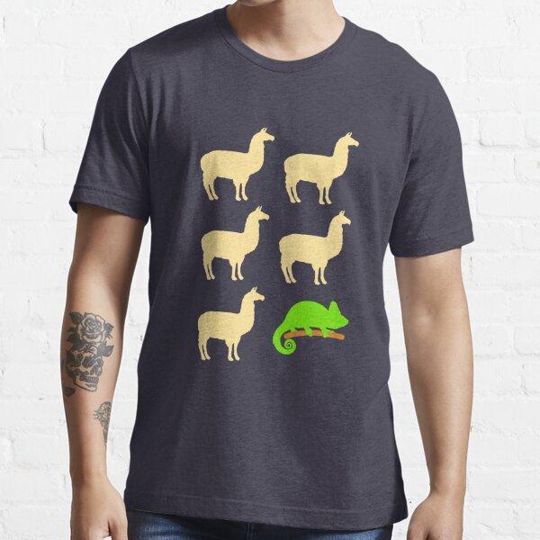 Llama Llama Llama Llama Llama Chameleon Essential T-Shirt