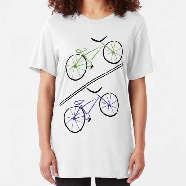 Bike Faces Slim Fit T-Shirt