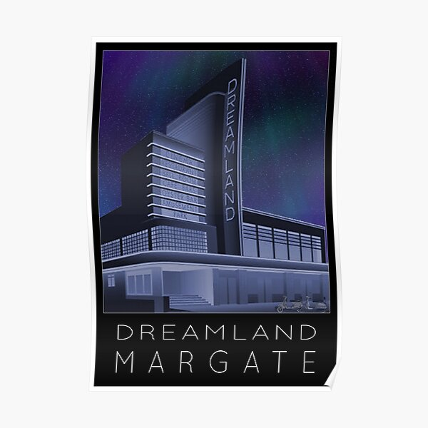 Scooter Poster Dreamland Margate Poster