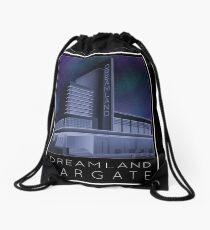 Scooter Poster Dreamland Margate Drawstring Bag