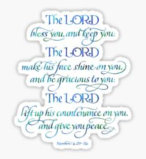 The Lord Bless You and Keep You Sticker
