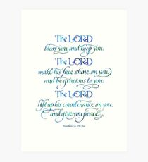 The Lord Bless You and Keep You Art Print