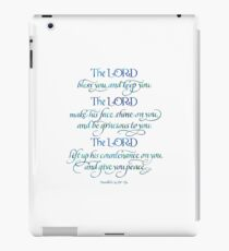 The Lord Bless You and Keep You iPad Case/Skin
