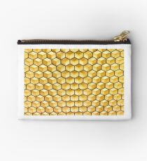 Honeycomb illusion Studio Pouch