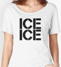Ice Ice Maternity Design Women's Relaxed Fit T-Shirt
