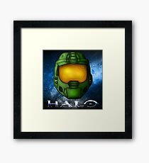 Halo - Master Chief Helmet Framed Print