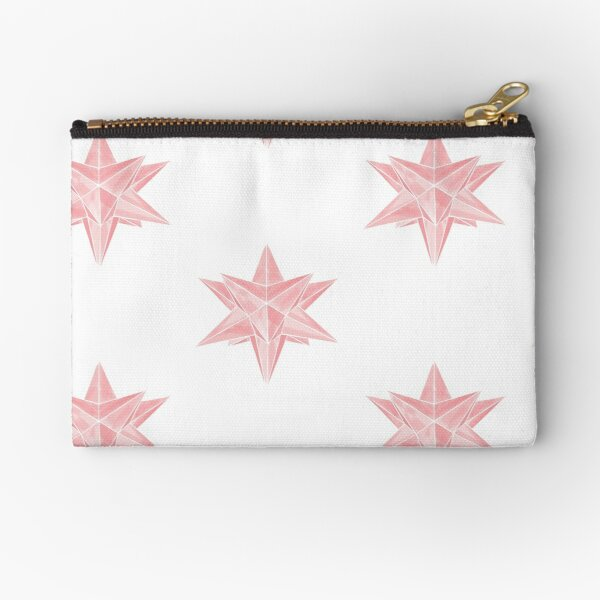 Geo Star  Zipper Pouch