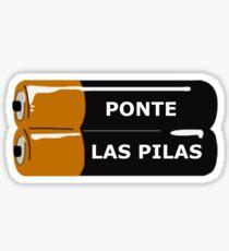 Ponte Las Pilas Sticker