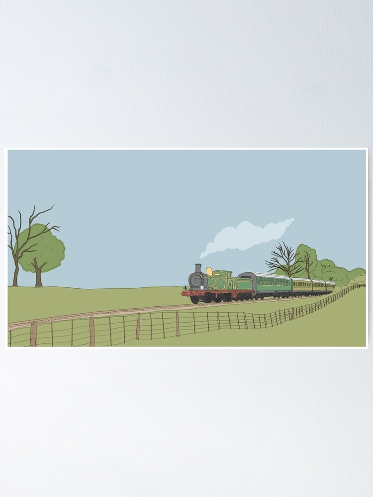 Alternate view of Bluebell Railway Poster
