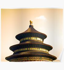Temple of Heaven - China Poster