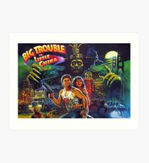 Big Trouble in Little China Art Print