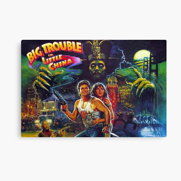 Big Trouble in Little China Canvas Print
