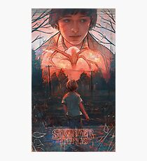 Stranger Things - Mind Flayer Photographic Print